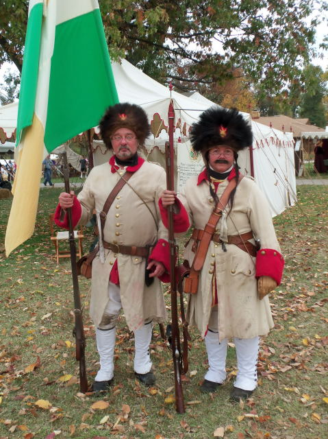 French And Indian War Provincial Uniforms French & indian war